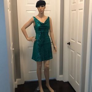 Vintage All That Jazz Sequin dress Size 7/8